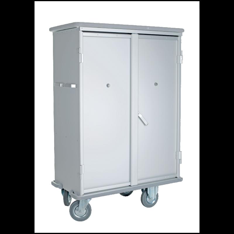 Il carrello in alluminio 1550: per l'igiene e il trasporto della biancheria ospedaliera